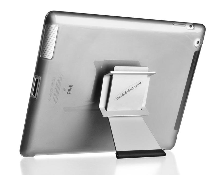 tablet-loc Klett horizontal aufgestellt