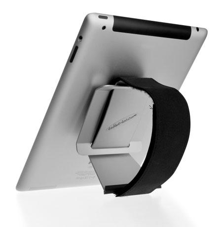 tablet-loc Pilot am Gurt vertikal ausgerichtet